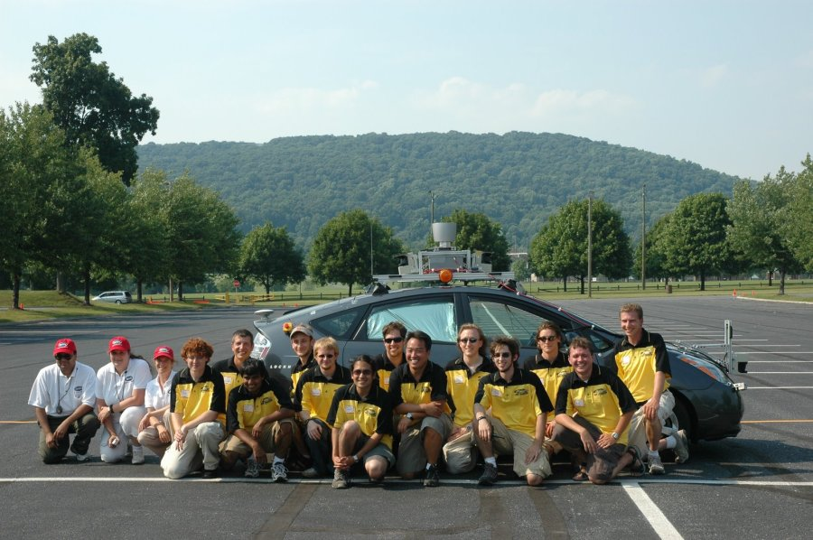 Little Ben, the team, and our DARPA Officials